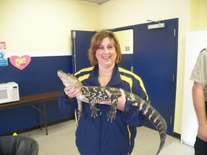 Mrs. D likes those gators