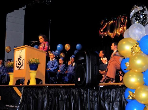 Amy Mercado at Graduation
