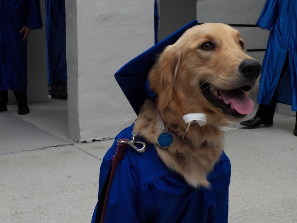 Sadie at Graduation 2018